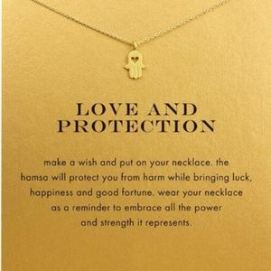 Jewelry - Love and Protection Charm Necklace